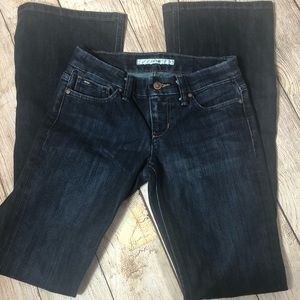 Joe's Jeans Rocker cut, flare size 24